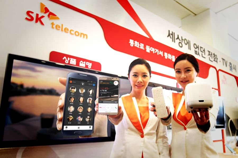 SK Telecom boasts an independent 5G version in South Korea