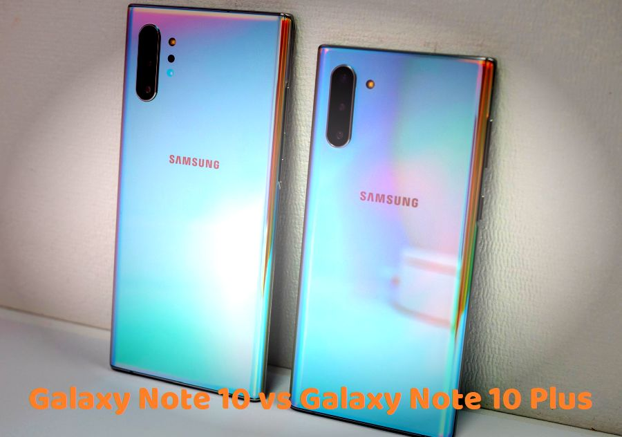 Samsung Galaxy Note 10 vs Galaxy Note 10 plus