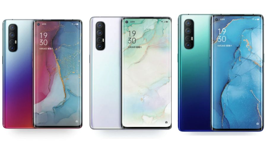 OPPO Reno3 Pro - the latest smartphone is already on sale