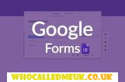 Google forms, facilities, free application